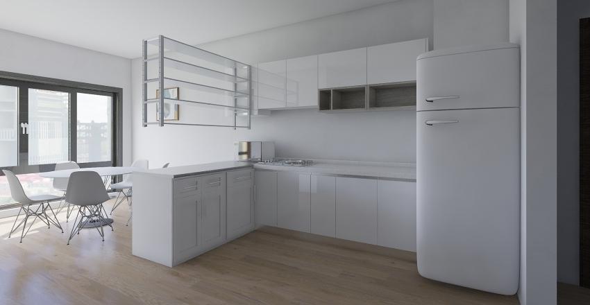 Квартира (основний варіант) Interior Design Render