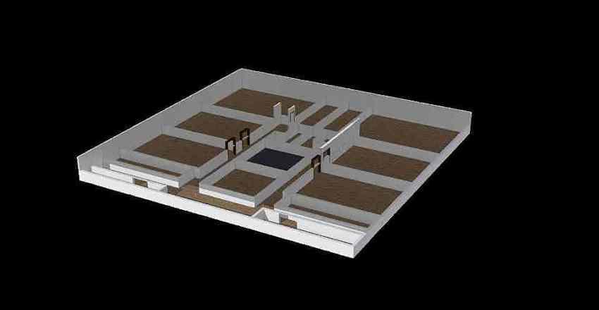 شقة تجمع2 Interior Design Render