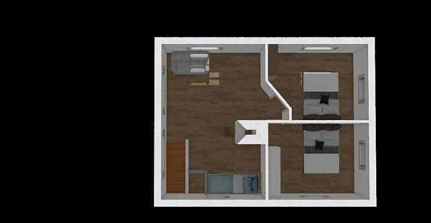 kullen 1 sal 3 rum Interior Design Render