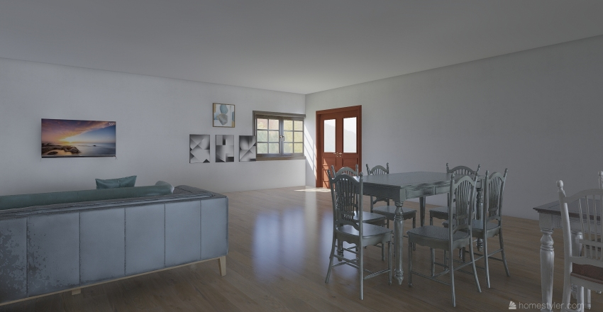 # house # 9585524 #  Interior Design Render