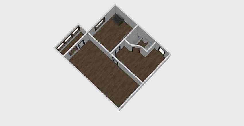1-комн_0350 Interior Design Render