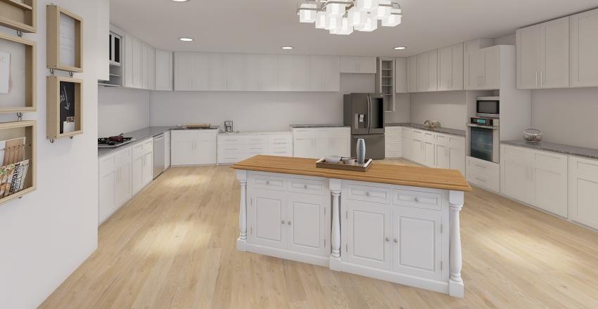 ronald mcd house myisha Interior Design Render
