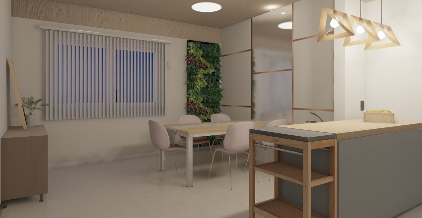 rose Interior Design Render
