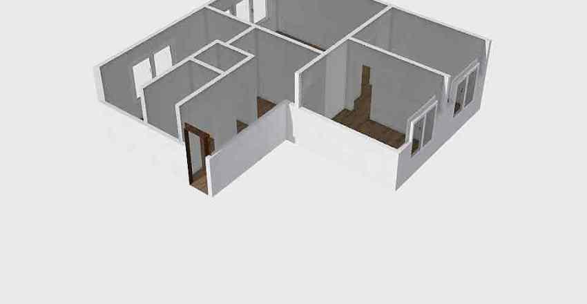 Isonzó utca 7 Interior Design Render