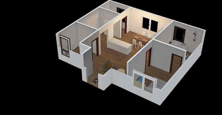 examen diseño ambiental Interior Design Render
