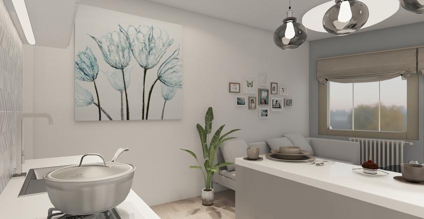 studio appart (жк Ручей)3 Interior Design Render