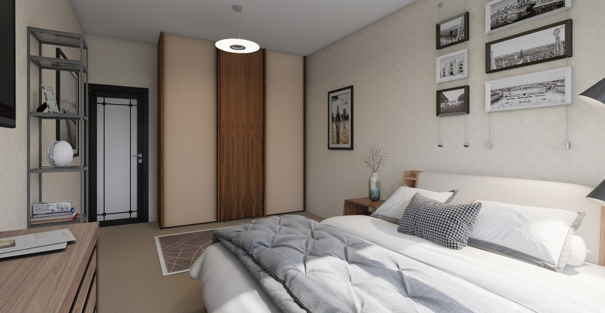 2ха Interior Design Render