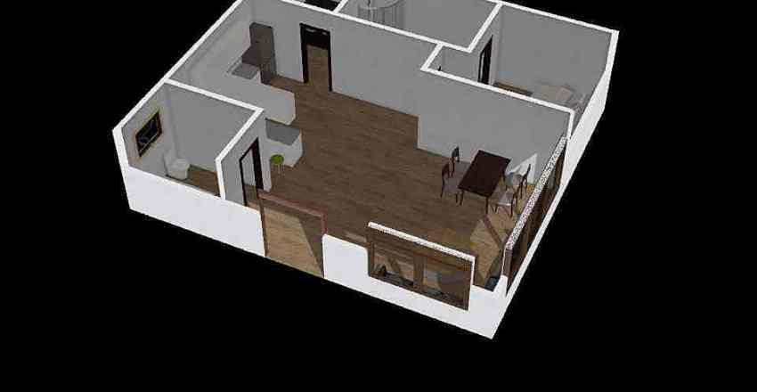 Casa Exámen Interior Design Render