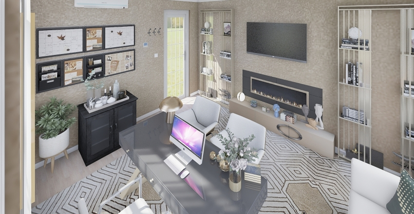 BEIDGE OFFICE Interior Design Render