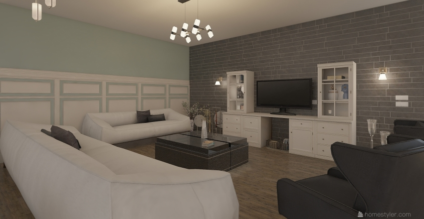 classic interior desgin  Interior Design Render