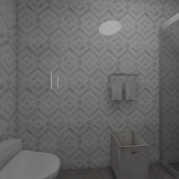 Warm and Cozy 1-bedroom apartment Interior Design Render