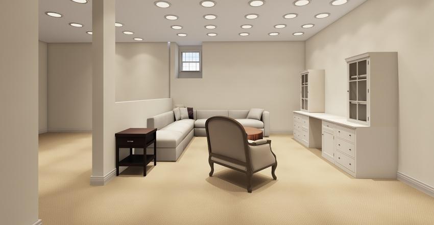 Carrie Floorplan Basement Interior Design Render