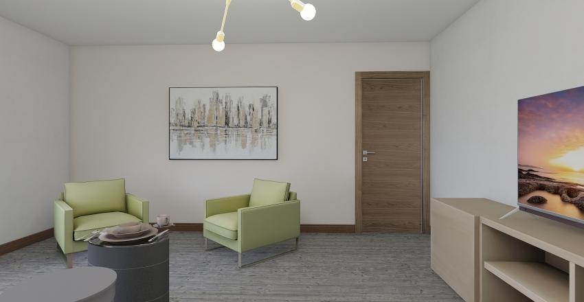 Living 1 Interior Design Render