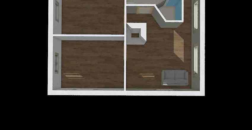 kullen 1 sal BAD Interior Design Render