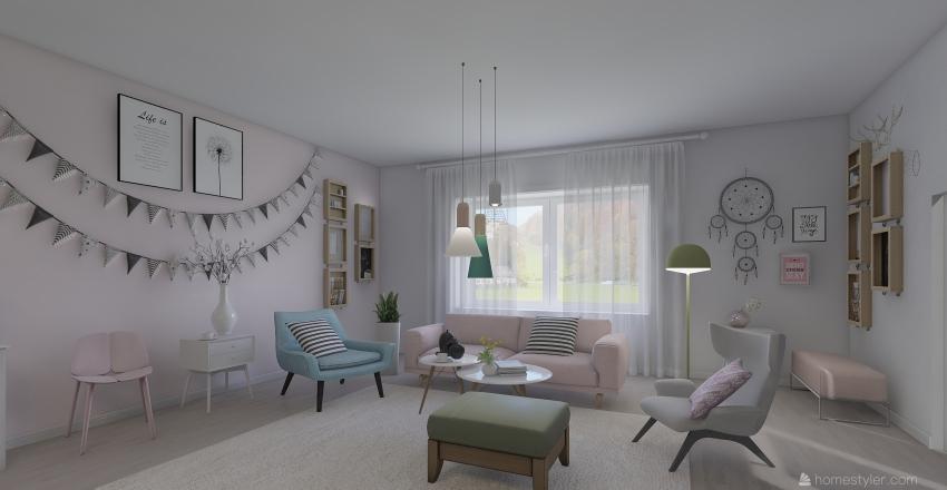 план кв 1 Interior Design Render