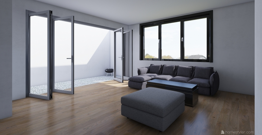 Exámen DA Interior Design Render