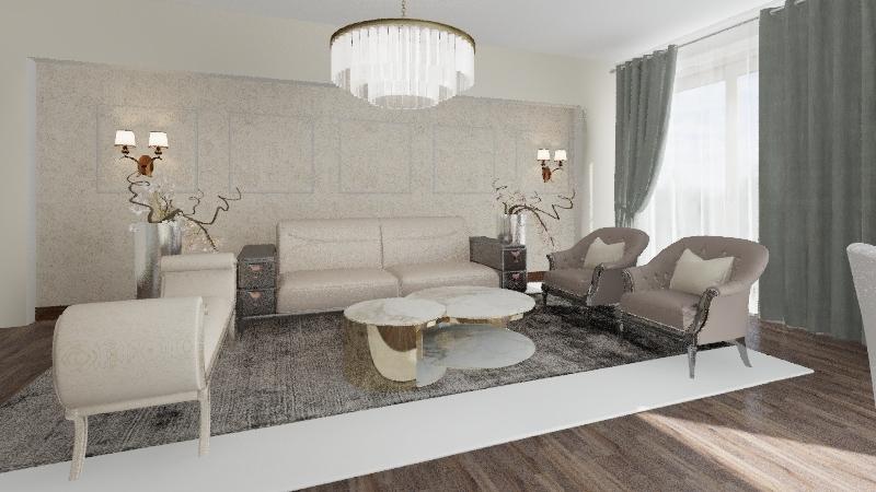 project huss Interior Design Render