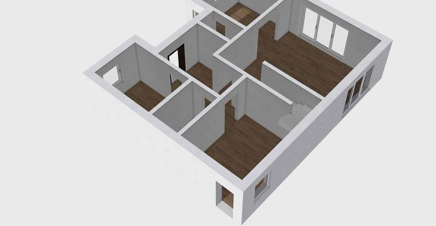 Dom Wieczorków Interior Design Render