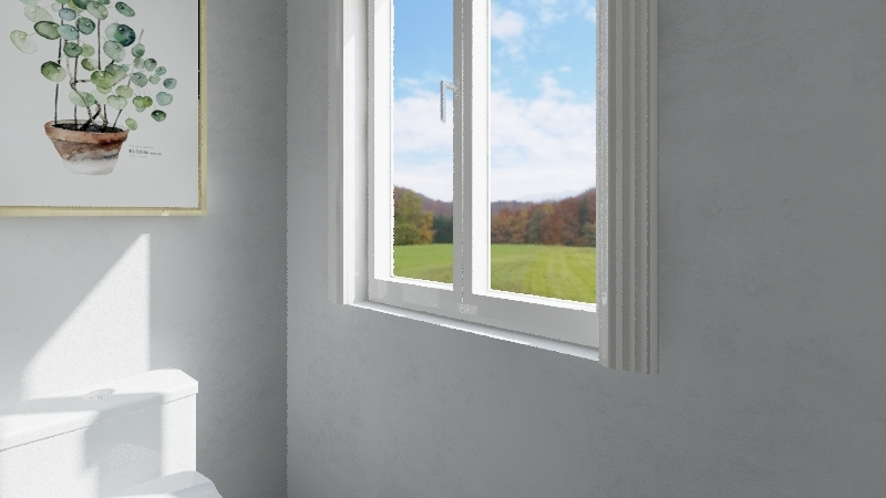 Mini Modern Living Interior Design Render