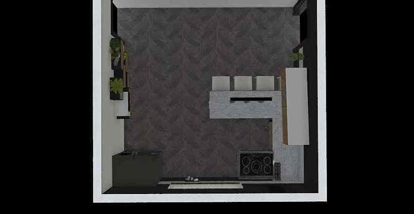 cocina doris  Interior Design Render