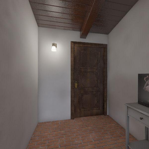 2 casas - sem aproveitar o anexo Interior Design Render
