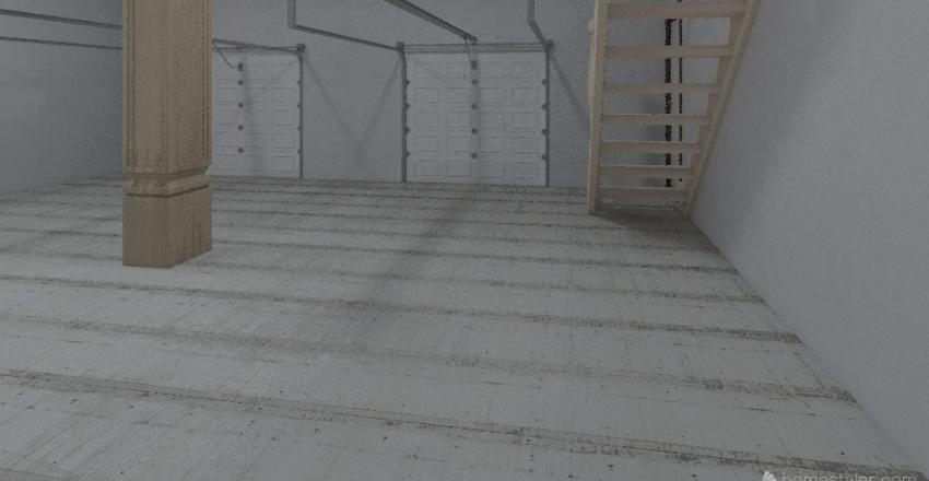 Garage Apartment - Floor 1 Interior Design Render