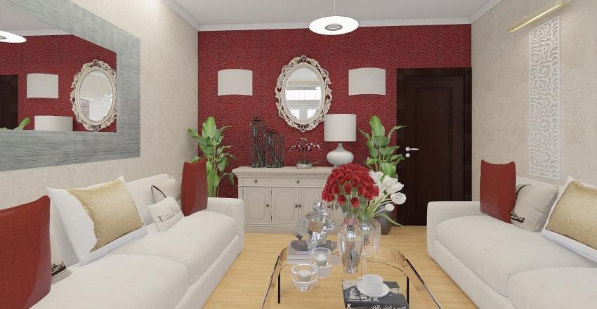remodelacion sala pequeña 1 Interior Design Render