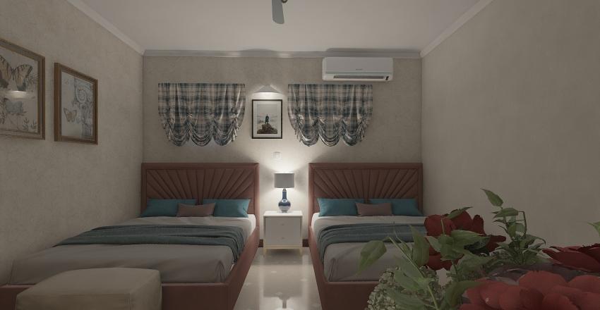 Remodelacion habitacion hotel Interior Design Render