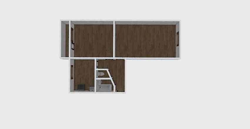 2-комн_004_11 Interior Design Render