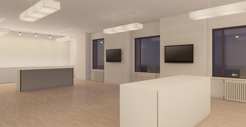 музей Interior Design Render