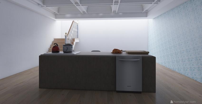 431 clave ave floor  Interior Design Render