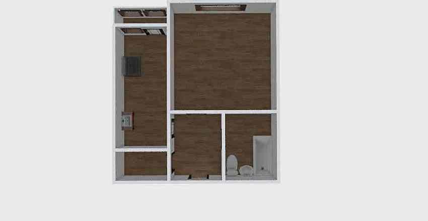 1-комн_0351 Interior Design Render