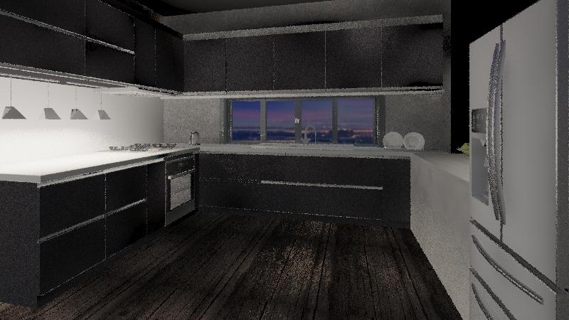 dekton Interior Design Render