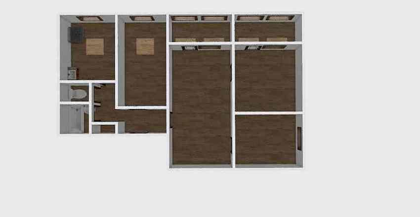 4-комн_008_5 Interior Design Render