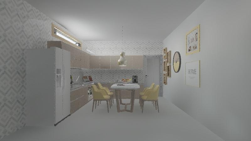 Cocina DORIS 1 Interior Design Render