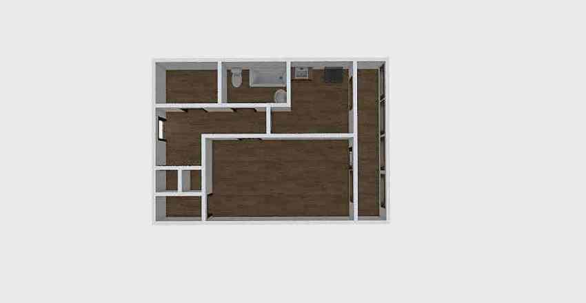 1-комн_0352 Interior Design Render