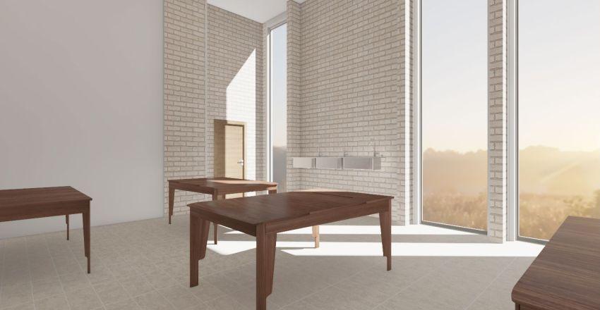 NIRC Dining Room Interior Design Render