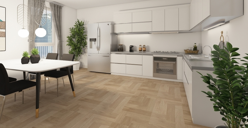 casa #67 Interior Design Render