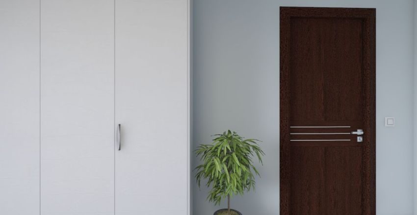 Мужская берлога Interior Design Render