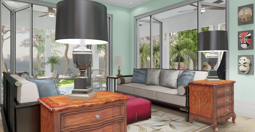 wanderfull Interior Design Render