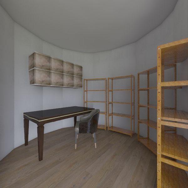workroom Interior Design Render