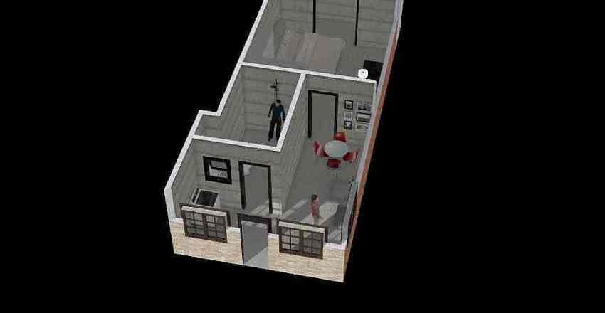 DIEGO E SABINE Interior Design Render