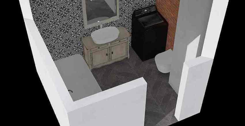 Lazienka_bolkowska Interior Design Render