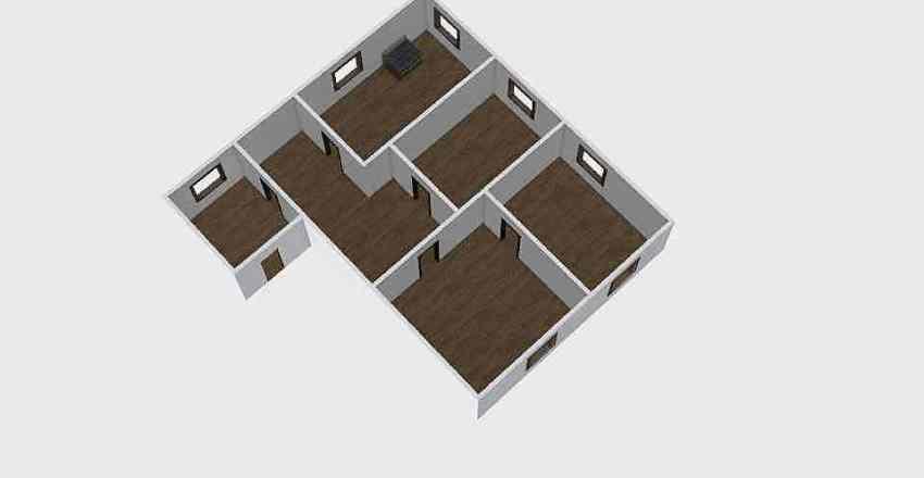 Дома_032 Interior Design Render