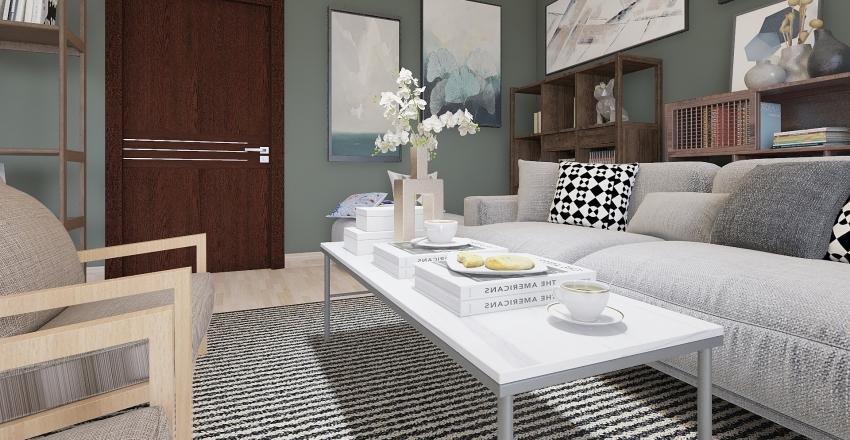 due personalita, una casa Interior Design Render
