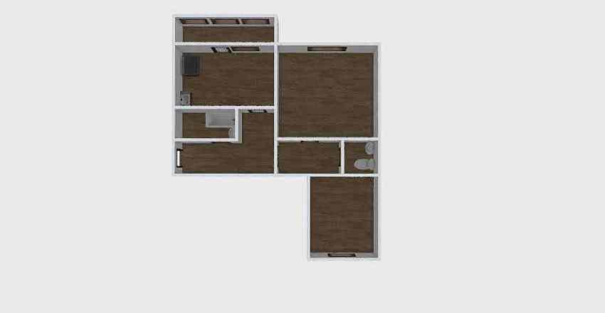 2-комн_0182_1 Interior Design Render