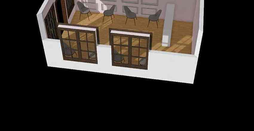 кофейея Interior Design Render