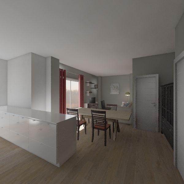 Plano nuevo Interior Design Render