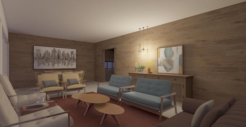 Residencia Aline Interior Design Render