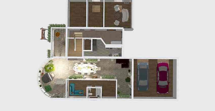 План дома №1 первый этаж Interior Design Render
